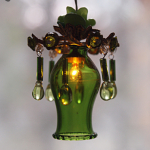 Ceiling Lamp Green Bud