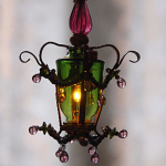 Ceiling Lamp Green Lilac