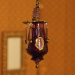 Ceiling Lamp Lilac