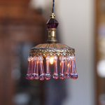 Ceiling Lamp Lilac Rod