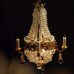 Crystal Chandelier 1:24