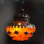 Ceiling Lamp Orange
